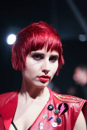Cosmoprof 2016 Colore rosso per i capelli