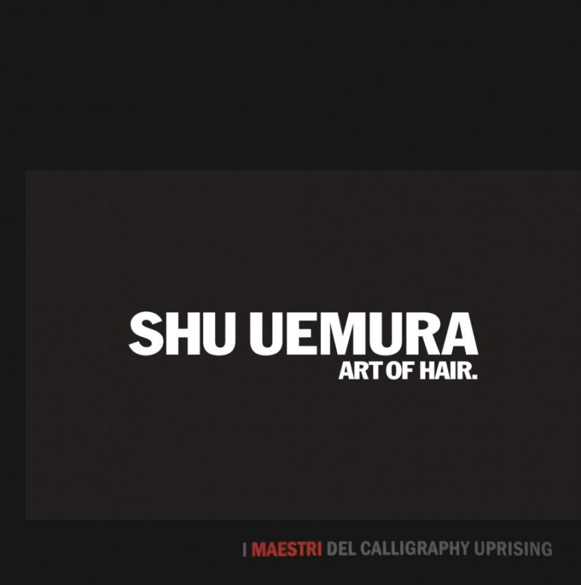 Shu Uemura Calligraphy – Ancient japanese tradition