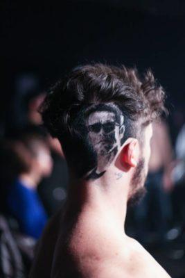 ritratti sui capelli