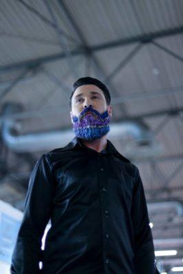 barba colorata