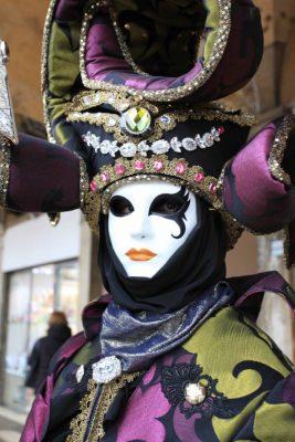 Maschera con gemme