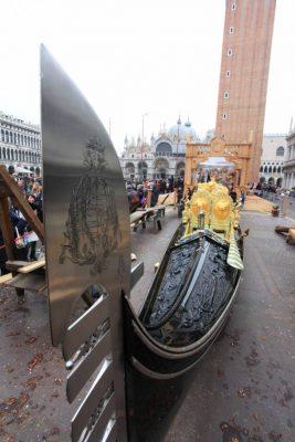 Gondola al Carnevale di Venezia