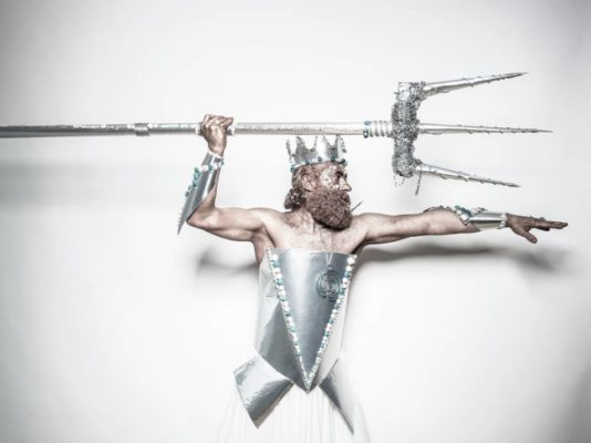 costume Poseidone