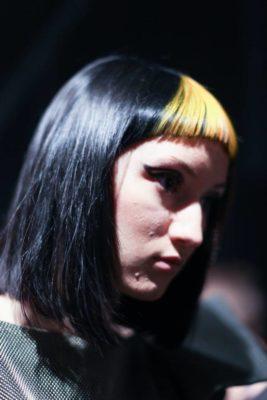 capelli gialli e neri