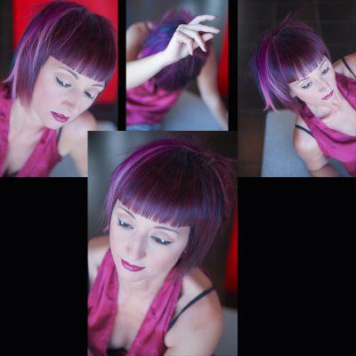 moda capelli viola