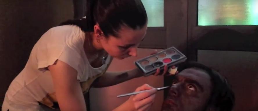 video makeup artist