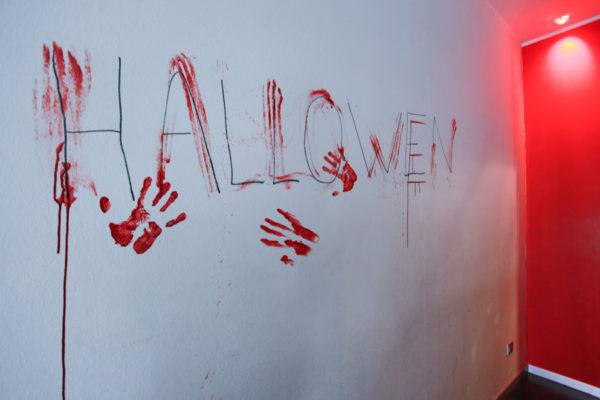Halloween sulla parete