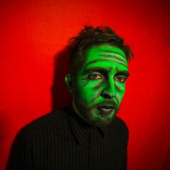 Artistic make up: Old Green Man