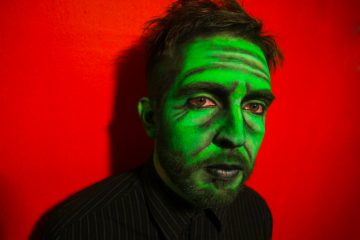 Artistic make up: Old Green Man