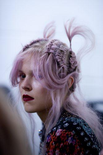 woman fashion hair