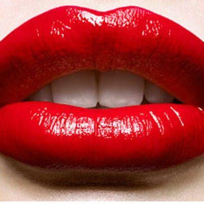 labbra rossetto rosso