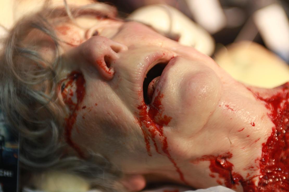 effetto testa decapitata