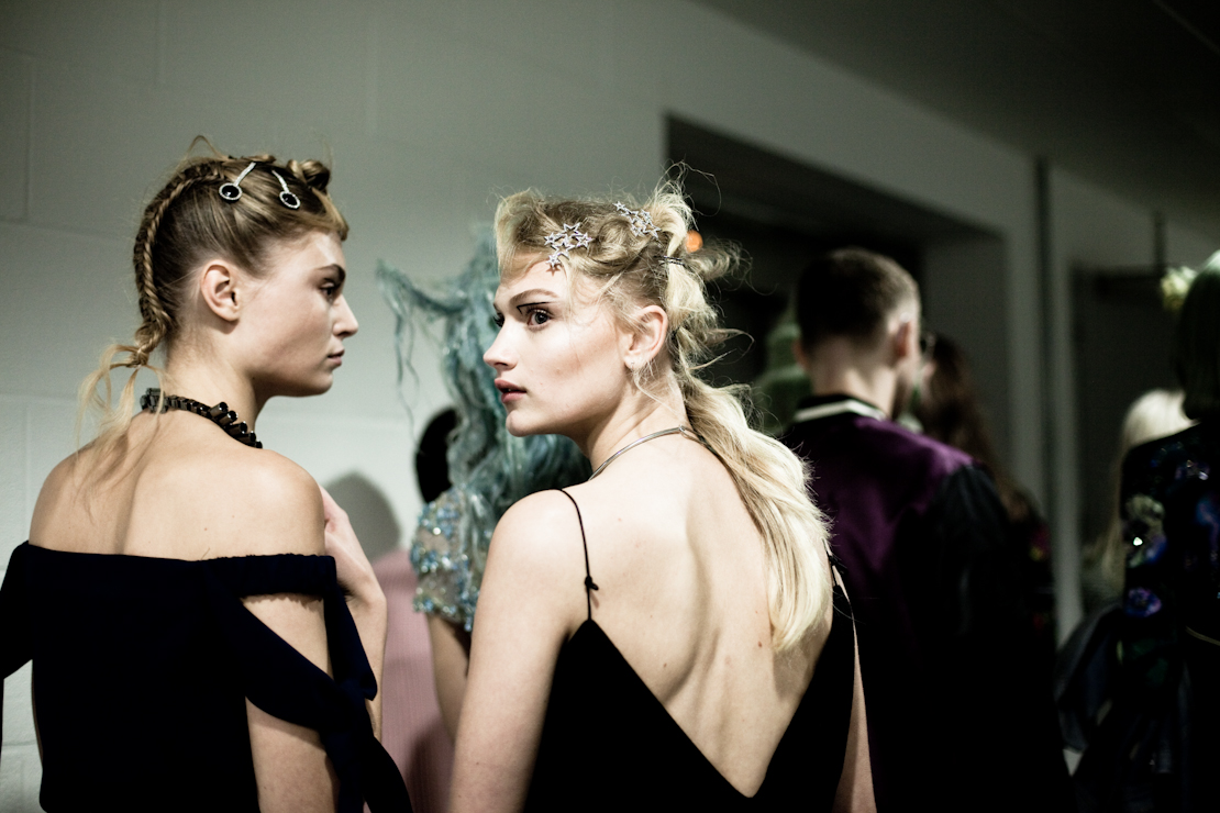 toni and guy acconciature backstage