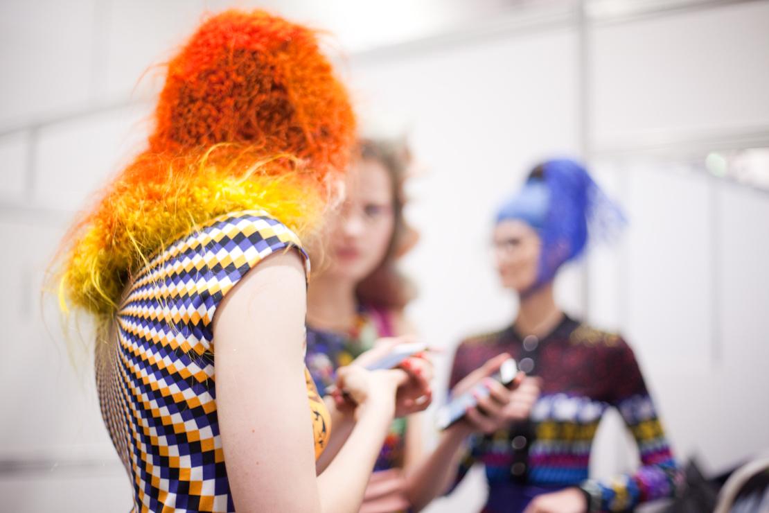 capelli arancio giallo