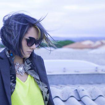 Hair Gray & Yellow